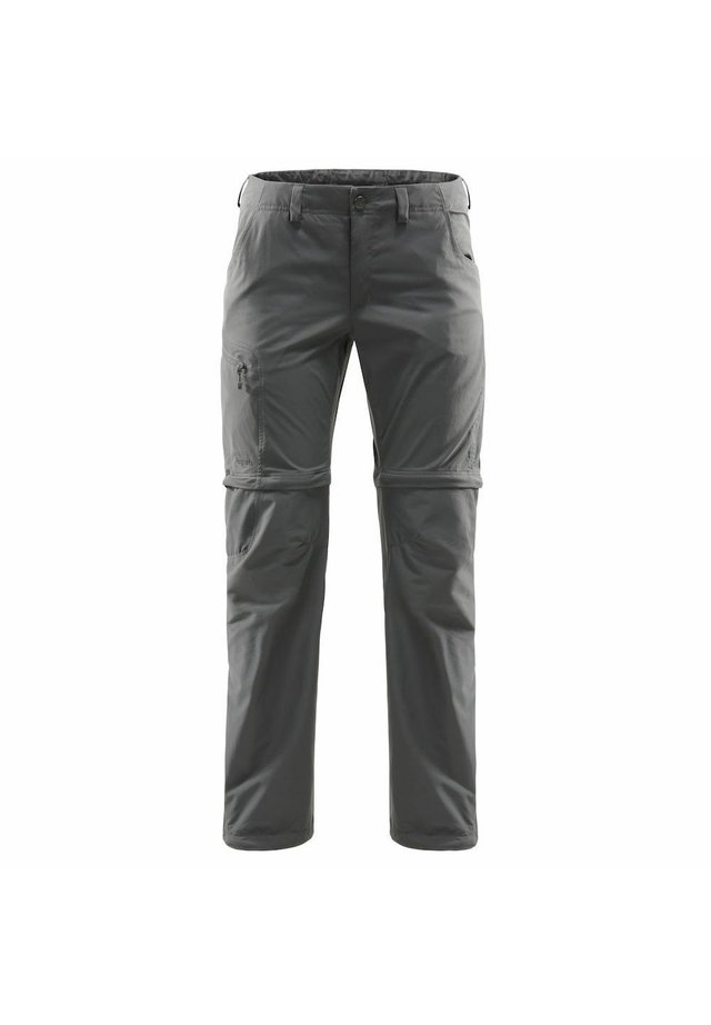 LITE ZIP OFF PANT - Outdoor trousers - magnetite