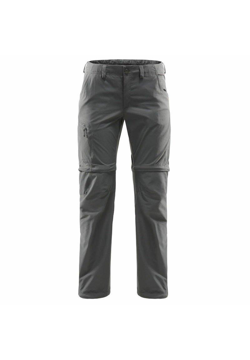 Haglöfs - LITE ZIP OFF PANT - Outdoor trousers - magnetite