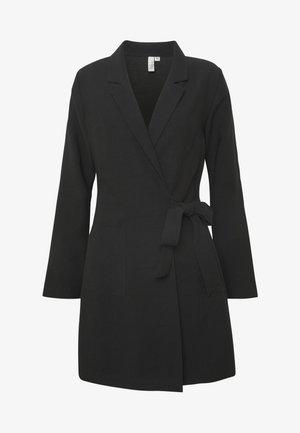 WRAP SUIT DRESS - Vestito estivo - black