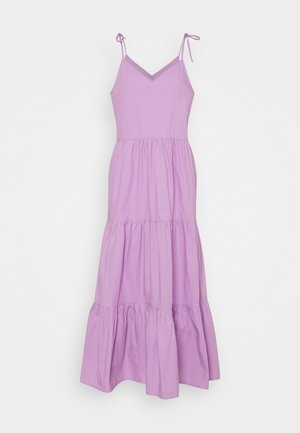 PCTESS STRAP ANKLE DRESS  - Maxi dress - sheer lilac