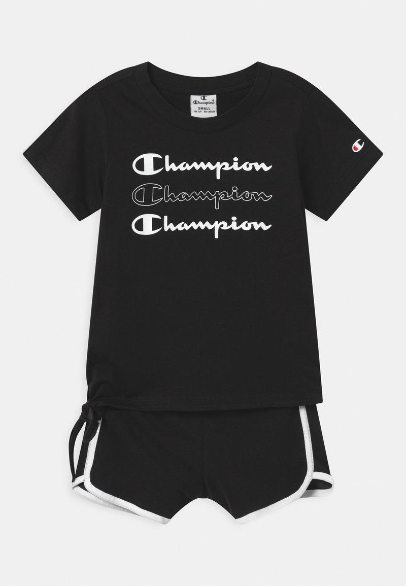 Champion - LEGACY AMERICAN CLASSICS SET UNISEX - Tepláková souprava - black