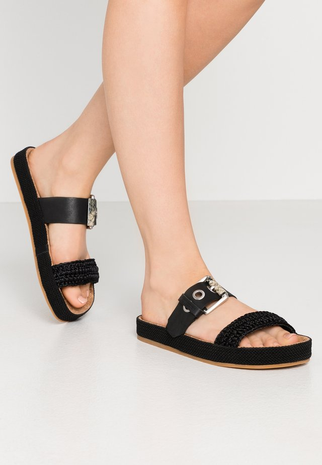 YOLIN  - Pantofle - black