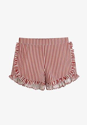 Shorts - dark red