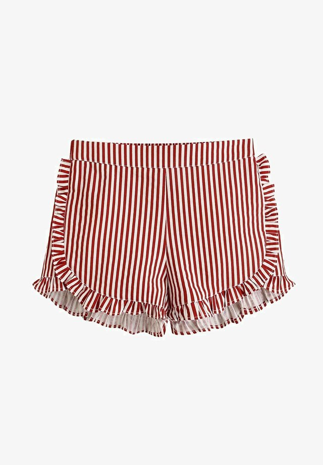 Shorts - dark red