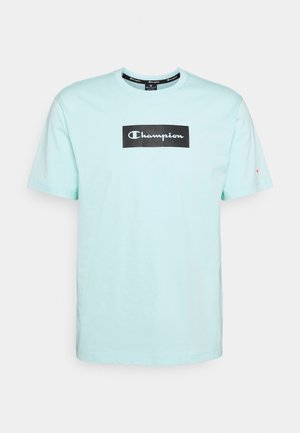 CREWNECK - T-shirt con stampa - light blue