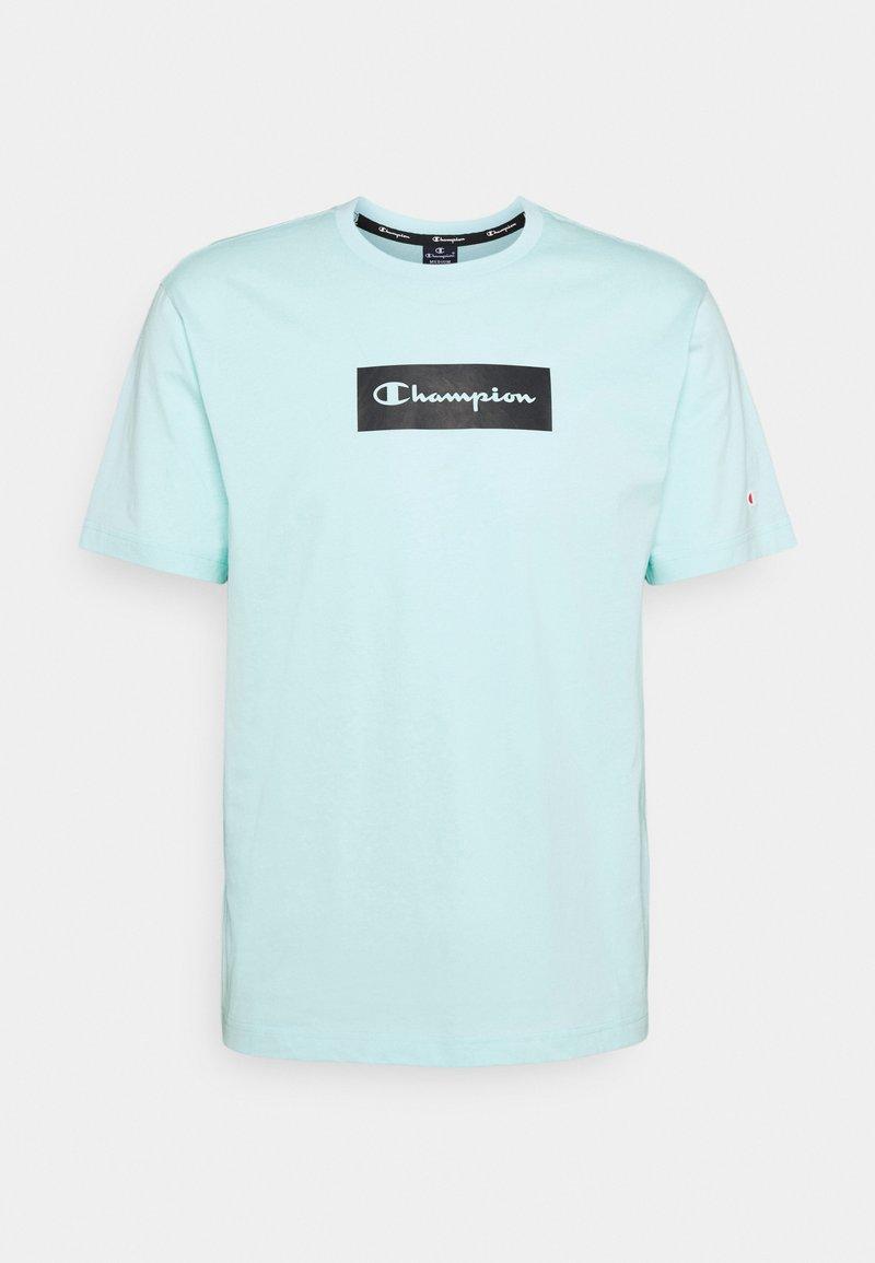 Champion - CREWNECK - T-shirt con stampa - light blue