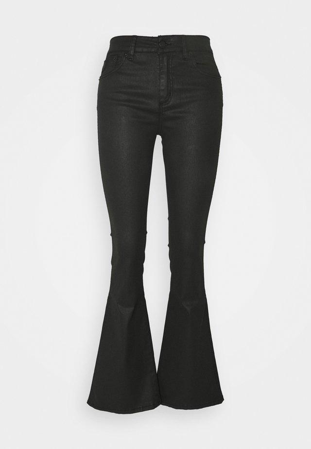 RAVAL - Flared Jeans - black