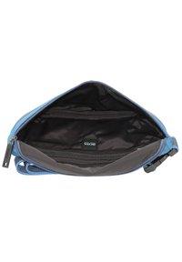 BOSS - PIXEL GÜRTELTASCHE 29 CM - Bum bag - bright blue - 6