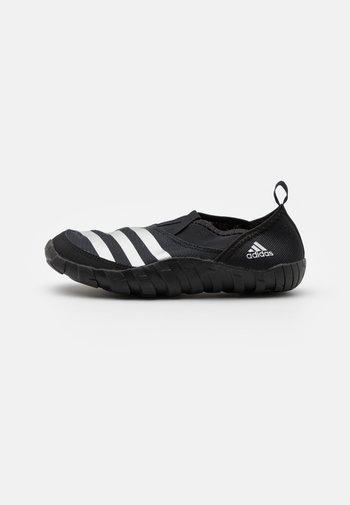 JAWPAW UNISEX - Watersports shoes - core black/silver metallic