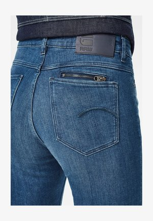 Straight leg jeans - faded neptune blue