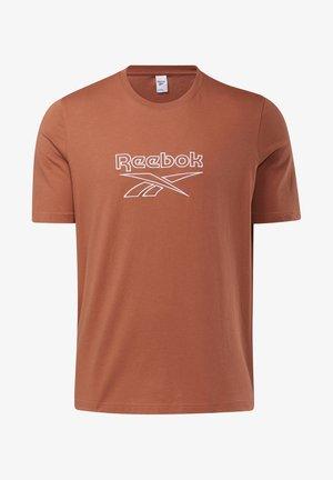 VECTOR TEE - Print T-shirt - baked earth