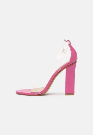PHOEBE - High heeled sandals - clear