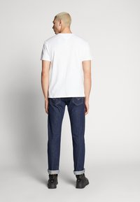 Tommy Jeans - CAMO GROUND LOGO TEE - Print T-shirt - white - 2