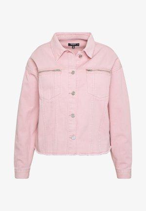 OVERSIZED JACKET - Denim jacket - blush