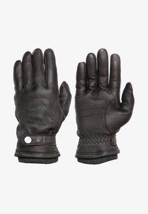FREDDIE - Gloves - brown