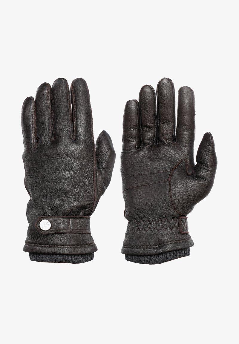 Pearlwood - FREDDIE - Gloves - brown