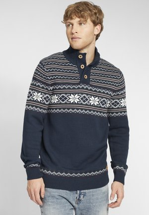 TROYER VELLEO - Maglione - dress blues