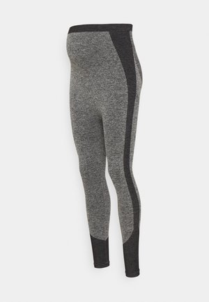 SEAMLESS - Leggings - Trousers - grey