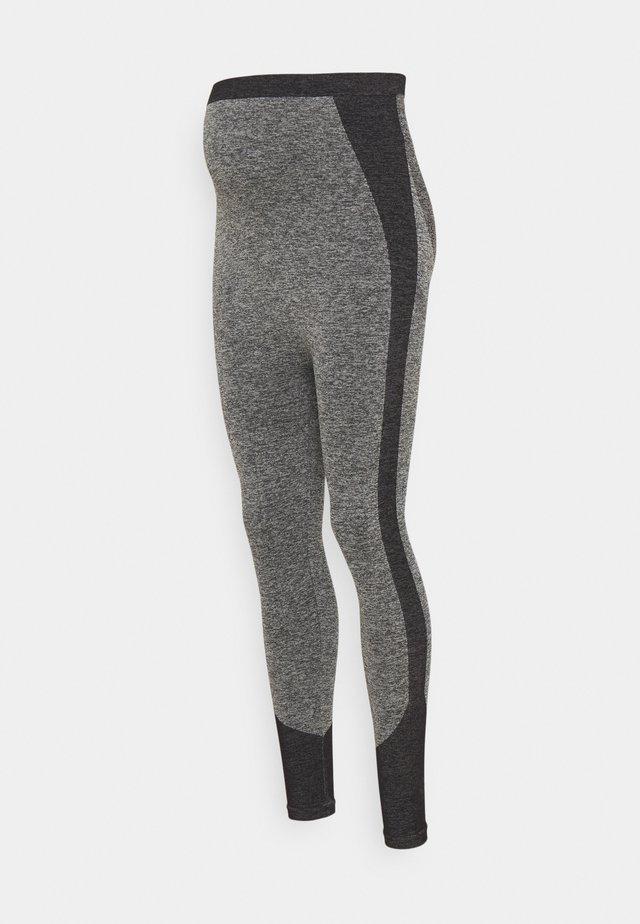 SEAMLESS - Leggings - grey