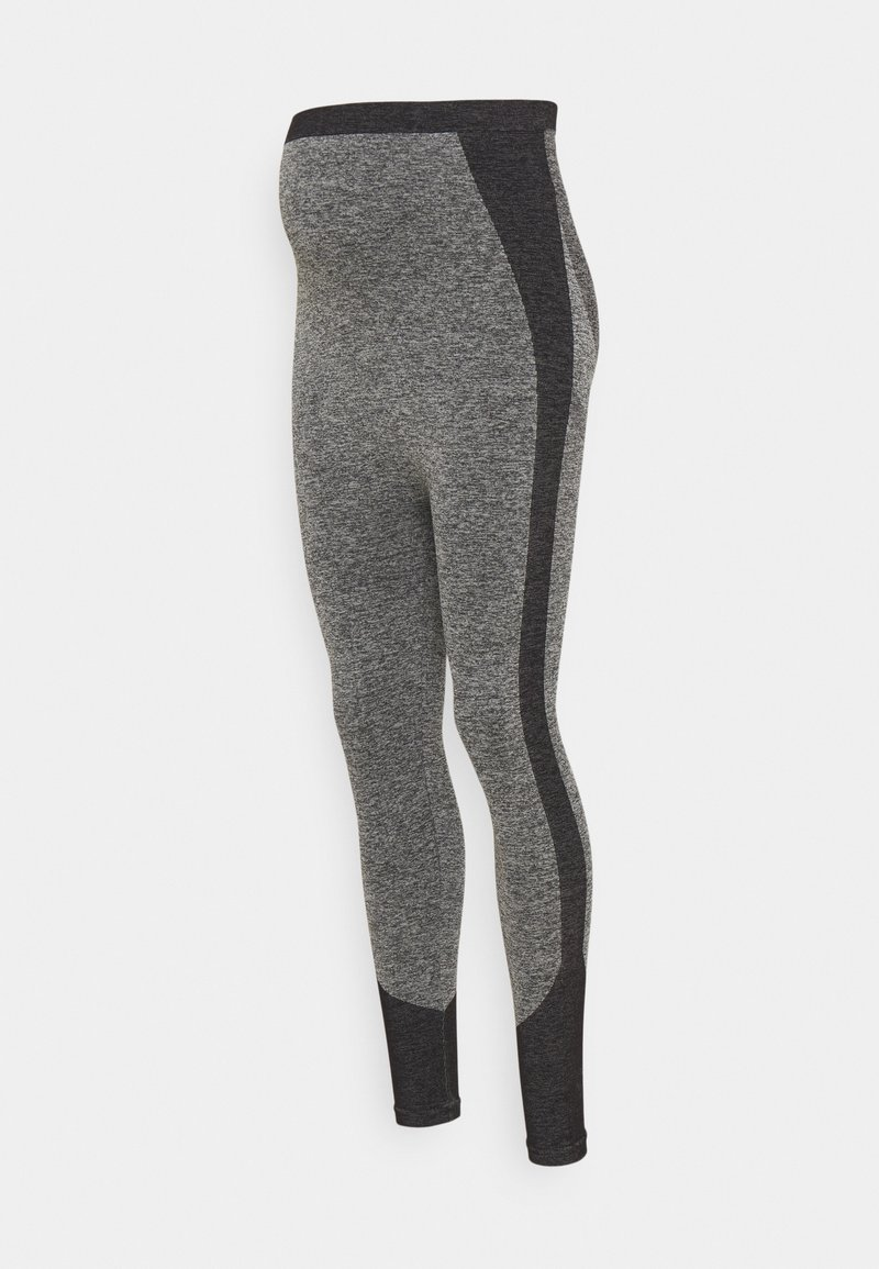 LOVE2WAIT - SEAMLESS - Leggings - Trousers - grey