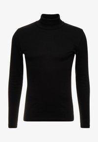 LONGSLEEVE TURTLENECK - Long sleeved top - black