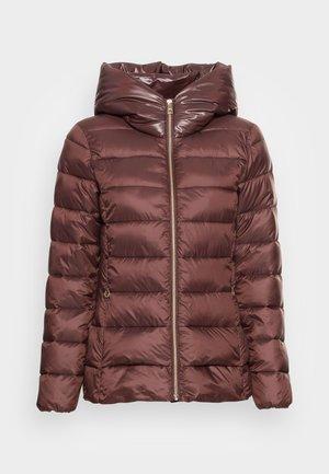 PER LL F THINSU - Down jacket - rust brown