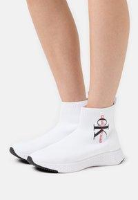 Calvin Klein Jeans - ADALEA - High-top trainers - white - 0