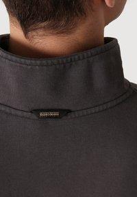 Napapijri - Zip-up sweatshirt - dark grey solid - 4