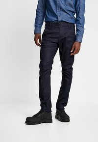 G-Star - VETAR SLIM FIT DENIM - Chino kalhoty - raw denim - 0