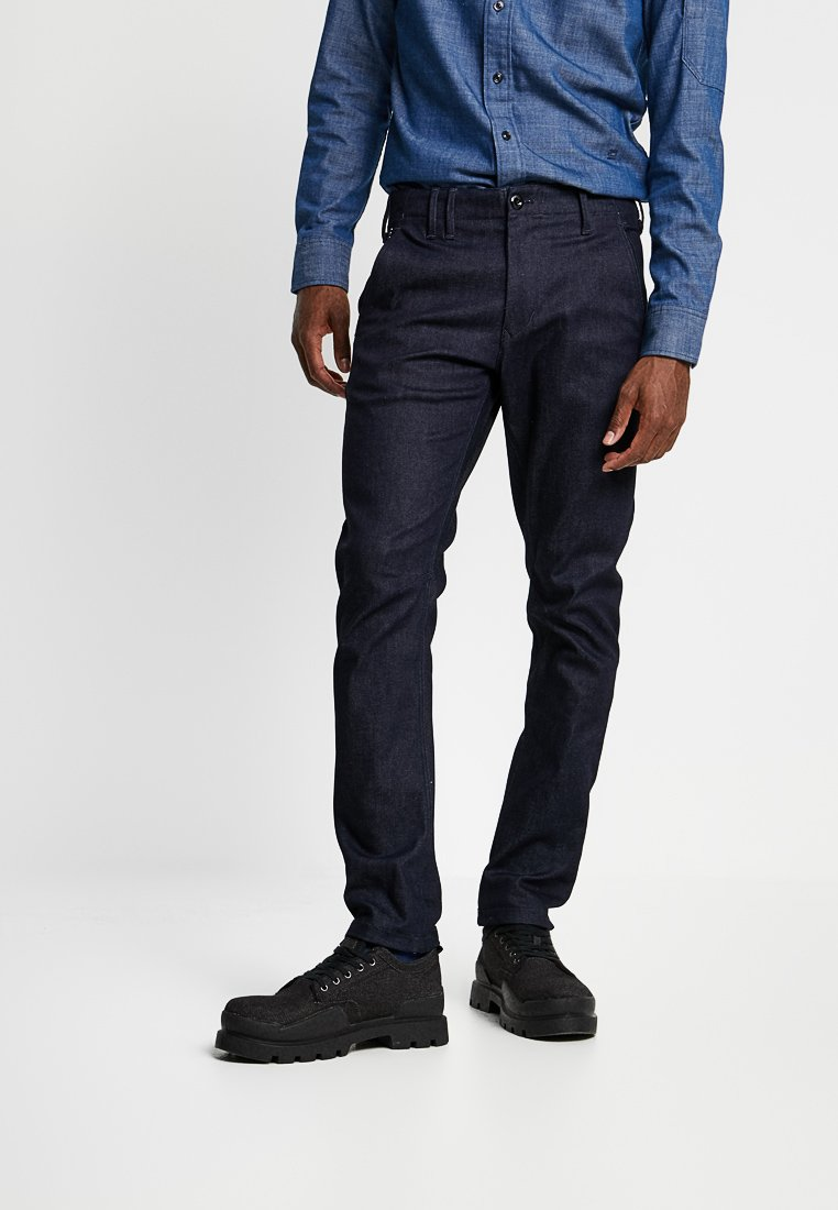 G-Star - VETAR SLIM FIT DENIM - Chino kalhoty - raw denim