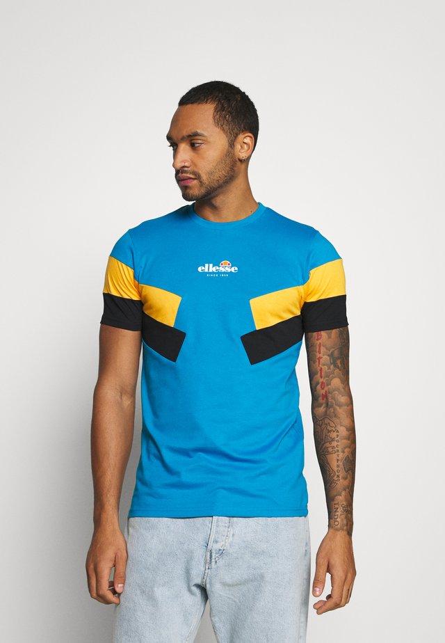 ZARDINI - T-shirt imprimé - blue