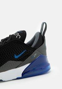 Nike Sportswear - AIR MAX 270 BT - Trainers - black/game royal/iron grey/white - 5