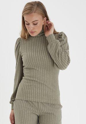 BYSAMLA - Long sleeved top - vetiver
