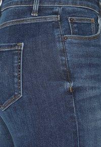 Marks & Spencer London - CROPPED - Jeans Skinny Fit - dark blue denim - 5