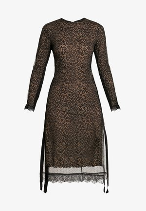 KIARA LINLEO DRESS - Denní šaty - taupe/brown