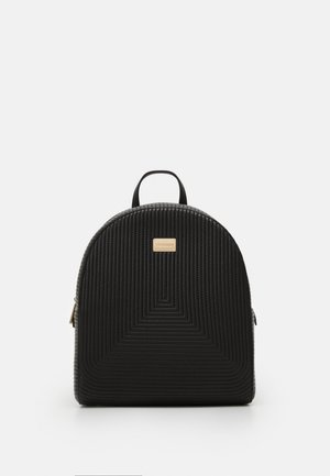 FRIDA QUILTED BACKPACK - Batoh - black