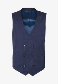 HIGHLIGHT CHECK - Suit waistcoat - navy