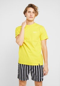 HUF - ICE CREAM TEE - Print T-shirt - yellow - 2