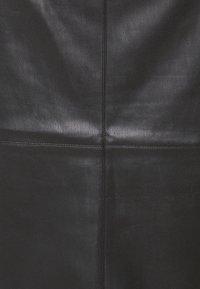 Dorothy Perkins Petite - SEAM DETAIL MIDI SKIRT - Pencil skirt - black - 5