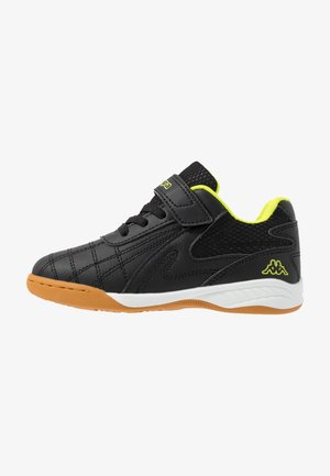FURBO UNISEX - Sports shoes - black/yellow