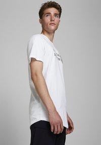 Jack & Jones - Print T-shirt - white - 3