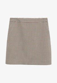 Mango - A-line skirt - marron - 4