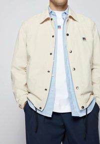 BOSS - Summer jacket - light beige - 4