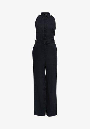 MIT WEITEM BEIN - Jumpsuit - black