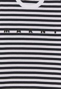 Marni - MAGLIETTA UNISEX - Print T-shirt - blue navy - 2