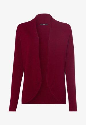 Cardigan - claret red