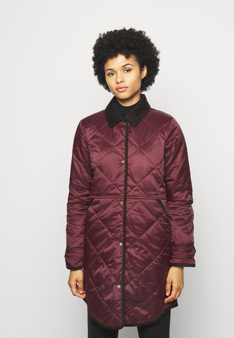 Barbour - PEPPERGRASS QUILT - Winter coat - eggplant