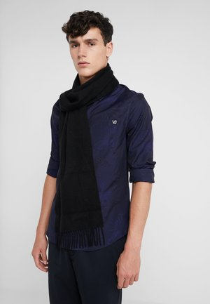100% Cashmere Scarf UNISEX - Sjaal - black