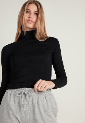 LONG SLEEVE - Long sleeved top - nero