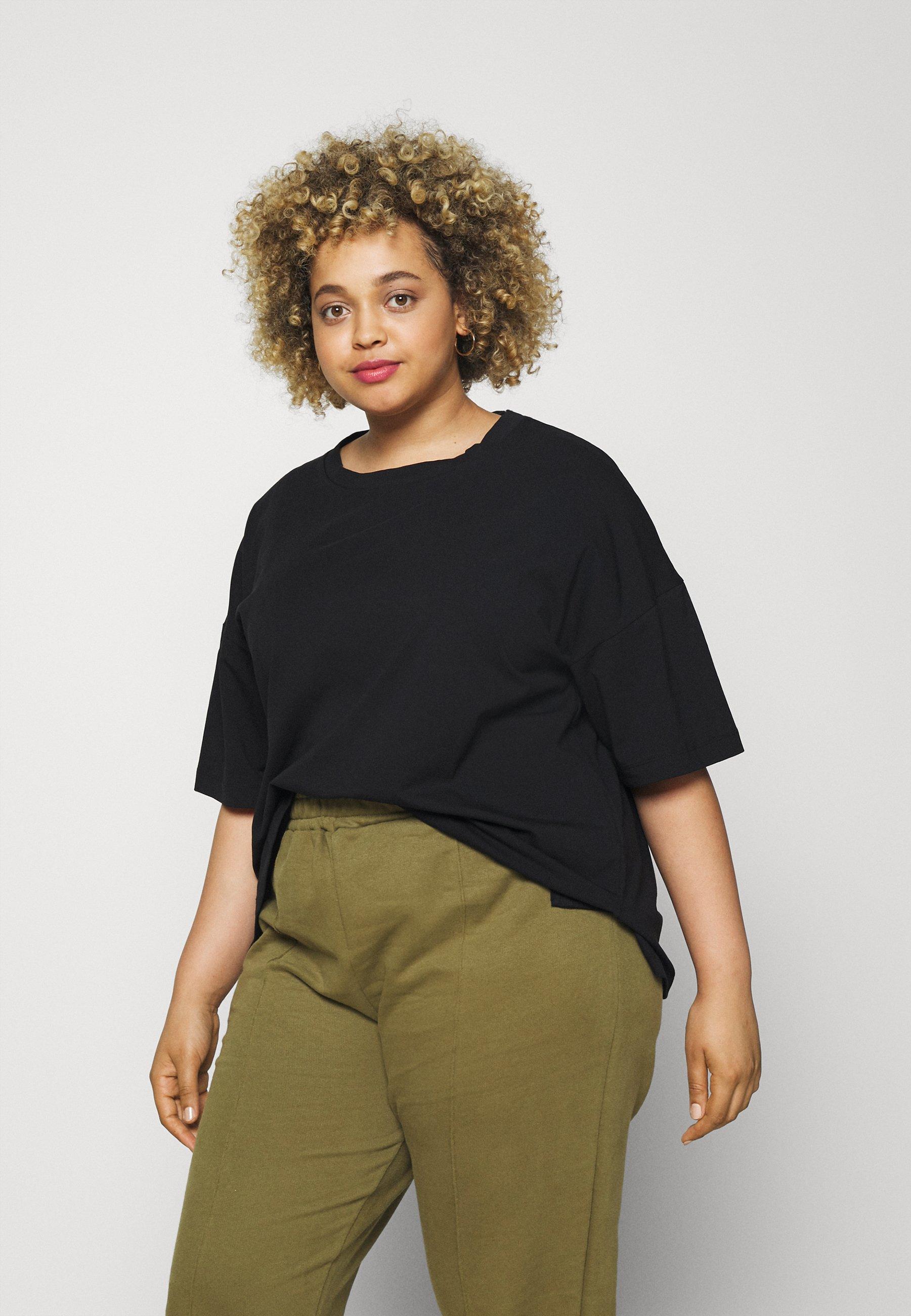 Damen DROP SHOULDER - T-Shirt basic